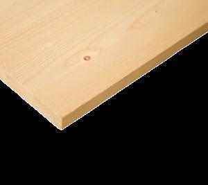 Мебельный щит 18х200х1000 сосна/ель сорт А/В